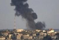 توپخانه ارتش رژیم صهیونیستی مواضع حماس را هدف قرار داد