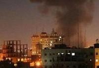 رژیم صهیونیستی بنادر صیادی غزه را بمباران کرد/ وقوع ۳ انفجار مهیب در غزه