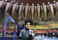 لیلا خدابندهلو: هوایزنان ورزشکار را کهبا دست خالی افتخار میآفرینند بیشتر داشته باشید