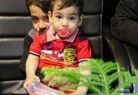 کودک ربوده شده، پیدا شد / آدم رباها در دام قانون +عکس