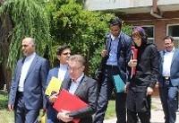بازدید هیات نمایندگان دفتر کمیسرعالی سازمان ملل از کانون اصلاح و تربیت