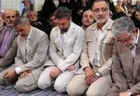 عکس| احمدینژاد در دیدار کارگزاران نظام با رهبری