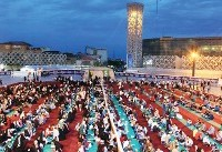 Everybody is invited: Communal Iftar meal in Tehran