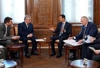 اسد:روسیه شریک پیروزهای ما در نابودی کامل تروریسم است