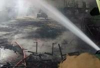 فوت یک نفر بر اثر آتشسوزی امروز در خیابان جمهوری