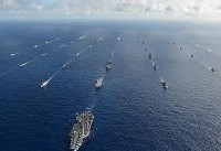 آمریکا دعوت از چین برای شرکت در بزرگترین رزمایش دریایی جهان را پس گرفت