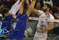 لیگ ملتهای والیبال؛ شکست ایران در نخستین گام برابر فرانسه