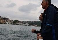 تصاویری از قایقسواری بازیکنان تیم ملی ایران در استانبول