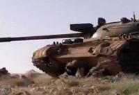 ارتش سوریه مواضع جبهه تحریرالشام را در هم کوبید
