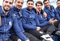 شور و نشاط ملیپوشان فوتبال پس از تمرینهای پرفشار + تصاویر