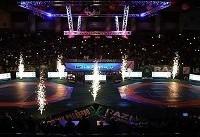 لیگ باشگاههای کشتی جهان در اردبیل برگزار میشود