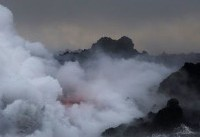 Hawaii helicopter evacuation readied as new lava stream hits ocean