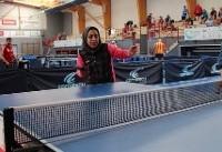 رقابتهای جهانی شرکتها/ منصوره رضایی در پینگپنگ طلا گرفت