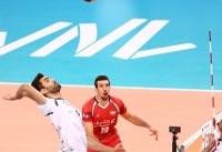 والیبال ایران حریف فرانسه نشد/ پیروزی تمام مدعیان در روز نخست