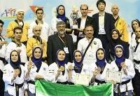 پومسهروهای ایران با ۱۱ مدال نایب قهرمان آسیا شدند