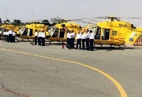 Iran unveils European-made SAR helicopters