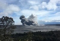 String of Hawaii volcano explosions shoot ash to 11,000 feet