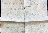 تصویری زیرخاکی از برنامه تمرینی دستنویس جعفر سلماسی/۴۰ سال وفاداری به یادگاری اسطوره ایرانی