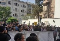 مراسم تشییع پیکر ناصر ملکمطیعی با حضور گسترده مردم و هنرمندان برگزار شد