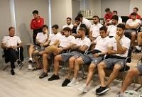 جلسه فنی تیم ملی فوتبال ایران در ترکیه