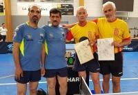 قهرمانی پینگپنگ بازان ایران در بازیهای جهانی شرکتها