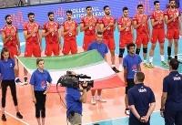 پیروزی تیم ملی والیبال ایران برابر استرالیا در ست نخست