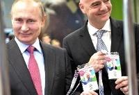 پوتین قهرمان جامجهانی ۲۰۱۸ را پیشبینی کرد