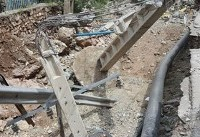 آثار خسارت ۵۰۰ میلیون تومانی سیل شمال تهران به تأسیسات برق (+عکس)
