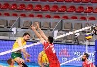 والیبال ایران با ترکیب جوان شده استرالیا را شکست داد/ روسیه و برزیل شکست خورده های بزرگ روز دوم