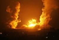 سلسله حملات جنگندههای اسرائیلی به پایگاههای مقاومت در غزه