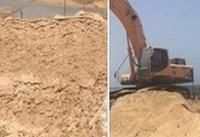 صهیونیستها در ساحل غزه دیواره دریایی احداث میکنند
