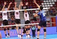 شکست ناباورانه والیبال ایران برابر ژاپن
