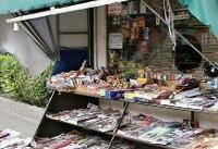 قدیمیترین روزنامه فروش پایتخت در انتظار یک کیوسک