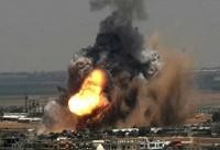 شهادت ۲ جوان فلسطینی در بمباران پایگاه های مقاومت در غزه