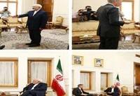 سفیر جدید انگلیس در ایران رونوشت استوارنامه خود را تقدیم ظریف کرد