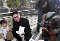 رهبر کره شمالی در سنگاپور (عکس)