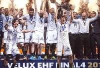 مونتهپلیه پس از ۱۵ سال قهرمان هندبال باشگاه های اروپا شد