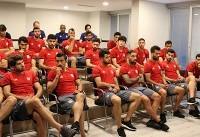 جلسه فنی بازیکنان تیم ملی قبل از دیدار با ترکیه برگزار شد
