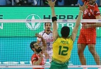 Iran volleyball team beats Australia in straight sets at 2018 FIVB Nations League