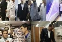بازدید شبانه وزیر بهداشت از ۳ بیمارستان تهران
