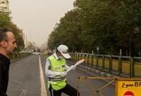ریزگردها هوای پایتخت را آلوده کرد