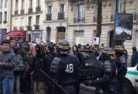 بازداشت ۱۲۵ نفر از معترضان فرانسوی