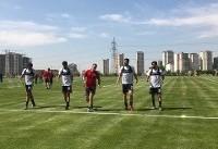 طارمی، حاج صفی و انصاریفرد در تمرین تیم ملی فوتبال