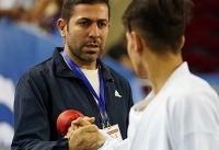 بهنام فر در تیم ملی کاراته جوانان ماندنی شد