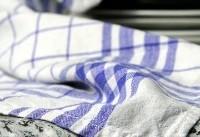 مسمومیت غذایی با دستمال آشپزخانه