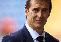 لوپتگی سرمربی جدید رئال مادرید معرفی شد
