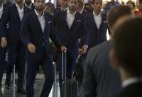 تیمهای ایران و مراکش راهی سنپترزبورگ شدند+ عکس