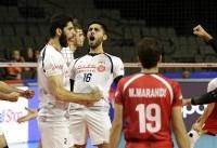 عبادی پور و شفیعی بهترین بازیکنان دیدار والیبال ایران با لهستان
