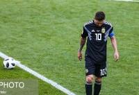 لیونل مسی: تا قهرمان جام جهانی نشوم از تیم ملی نمیروم