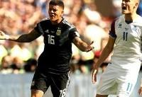 تساوی آرژانتین مقابل ایسلند/ مسی پنالتی از دست داد